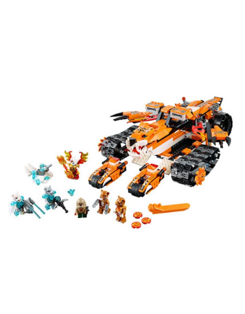 LEGO LEGO 70224 Tiger's Mobile Command CHIMA