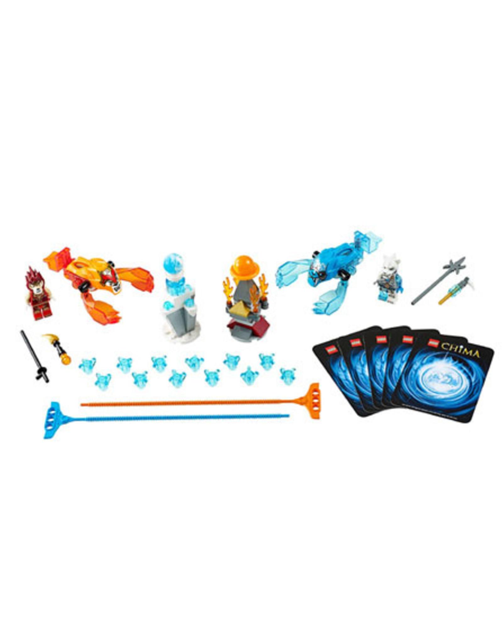 LEGO LEGO 70156 Fire vs. Ice CHIMA