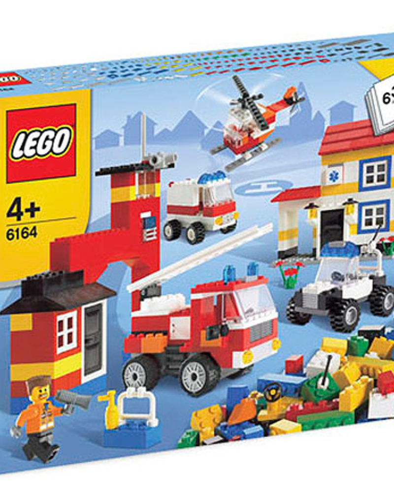 LEGO LEGO 6164 Rescue Building Set JUNIOR CREATOR