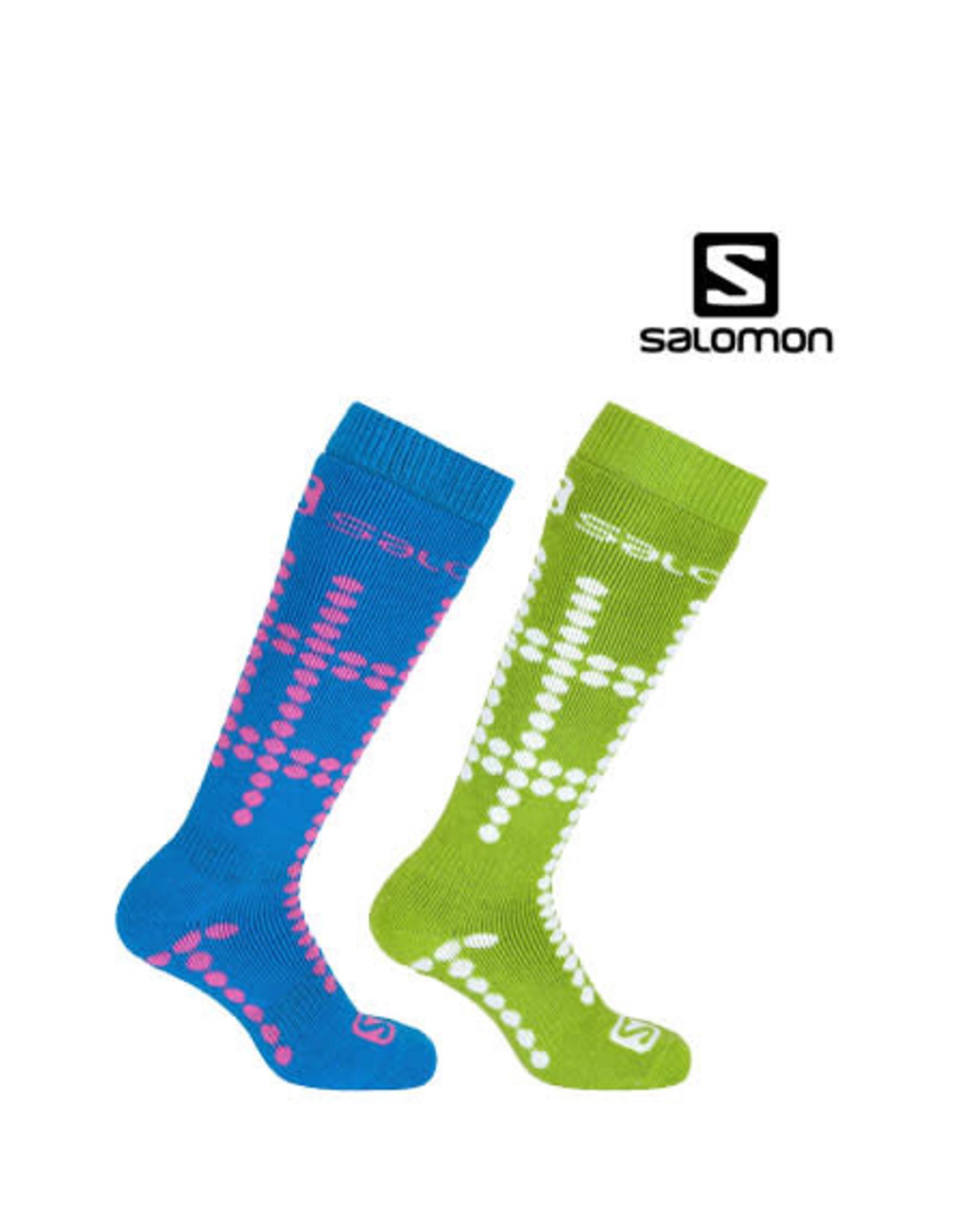 SALOMON SALOMON SKISOKKEN Team Junior 2-pack