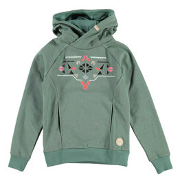 BRUNOTTI BRUNOTTI NAIADY Sweatshirt Girls Leafy Green 152
