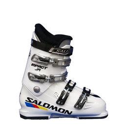 SALOMON Skischoenen Impact 60 Wit Gebruikt mt 38 (mondo 24)