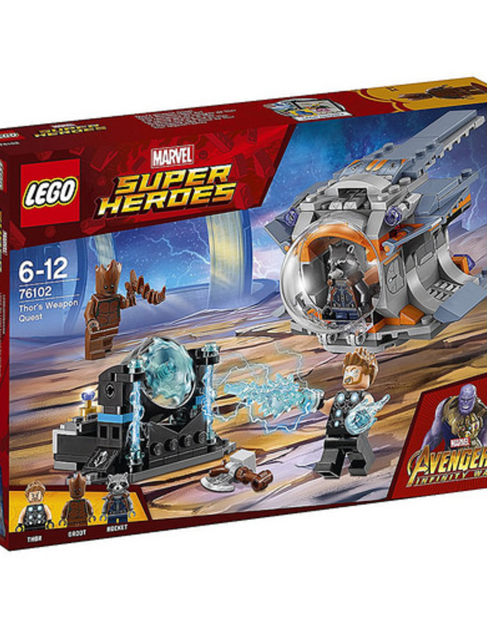 LEGO LEGO 76102 Thor's Weapon Quest SUPER HEROES