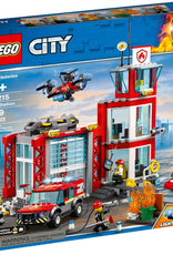 LEGO LEGO 60215 Brandweer Kazerne CITY