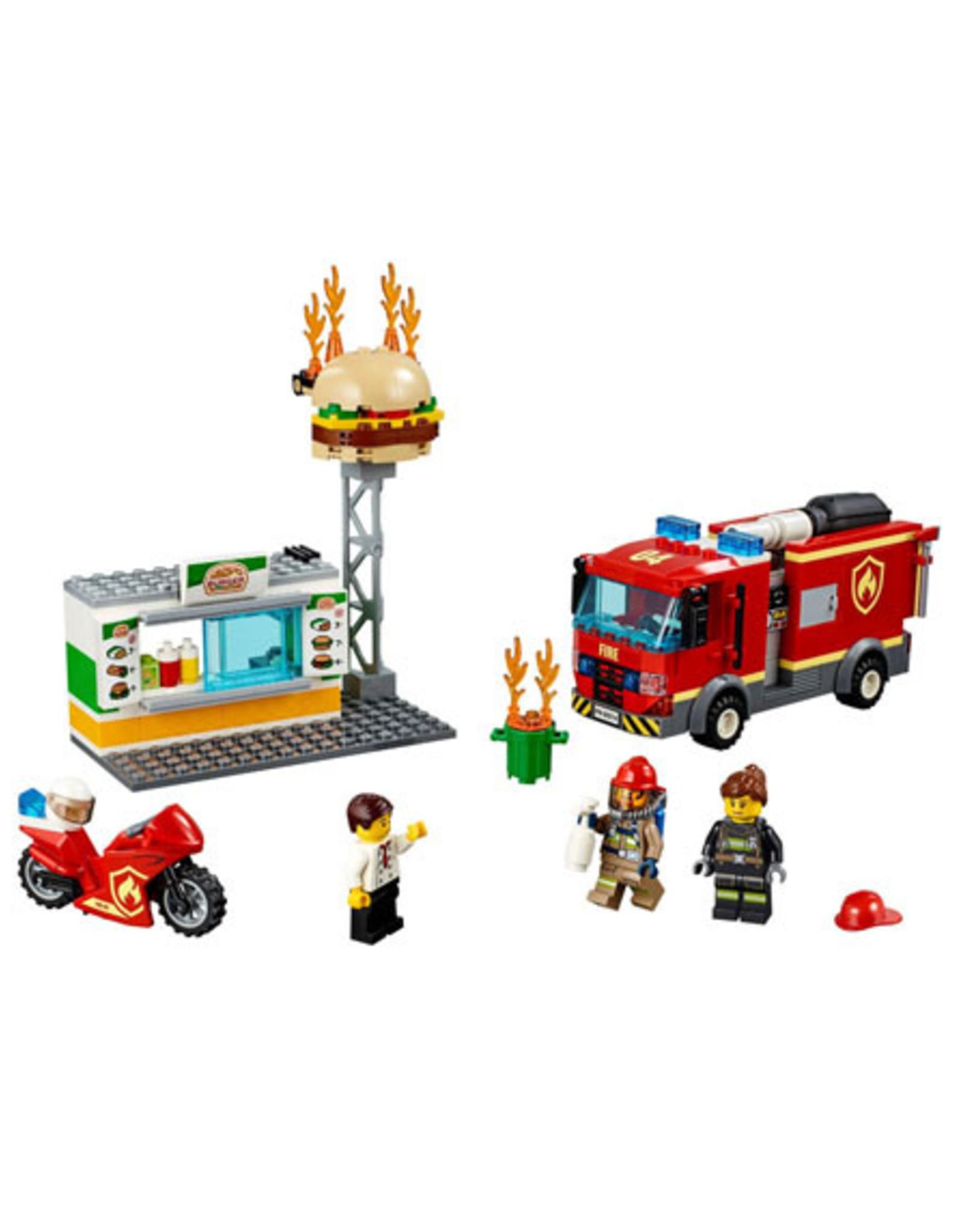 LEGO LEGO 60214 Burger Bar Fire Rescue CITY