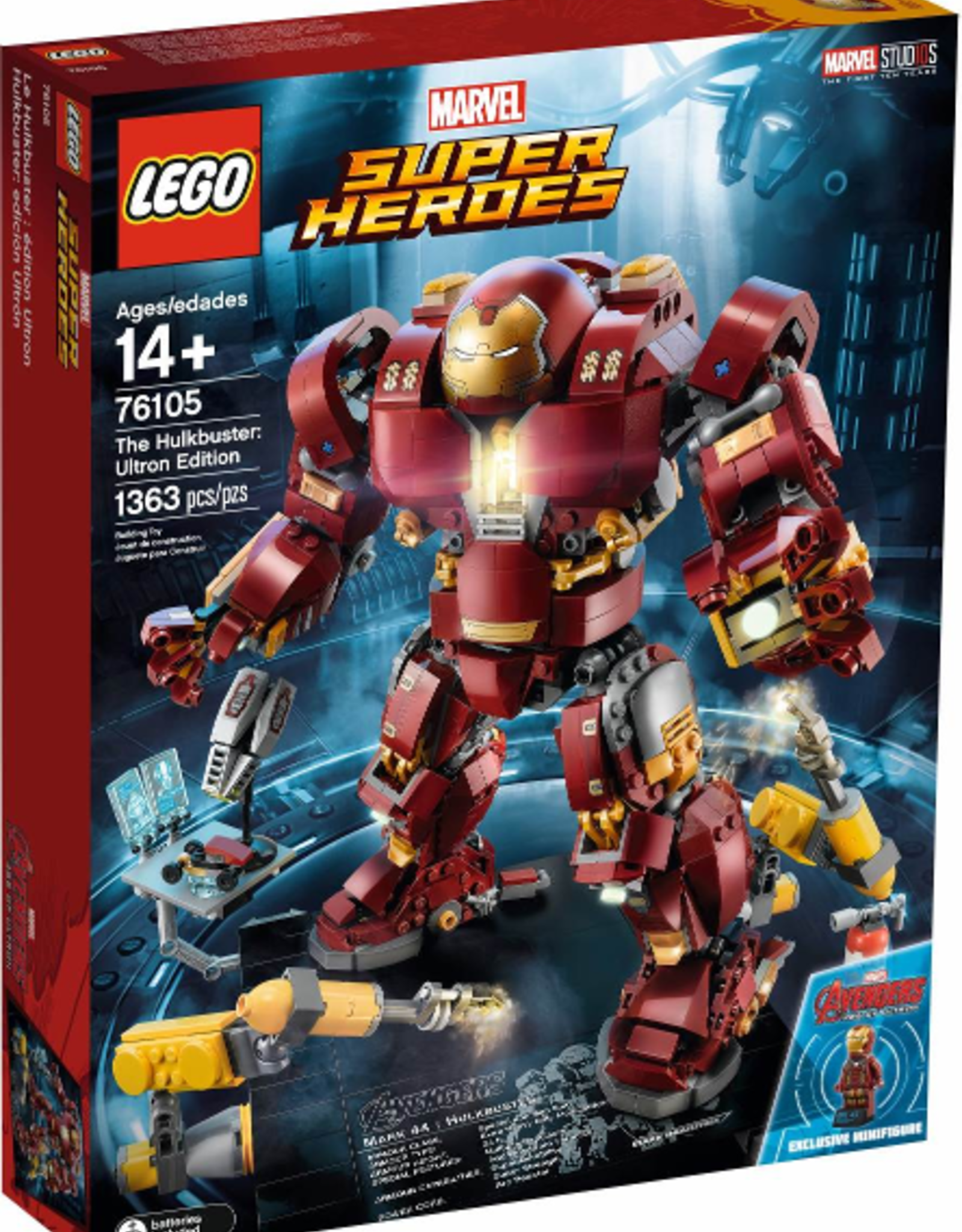 LEGO LEGO 76105 The Hulkbuster: Ultron Edition SUPER HEROES