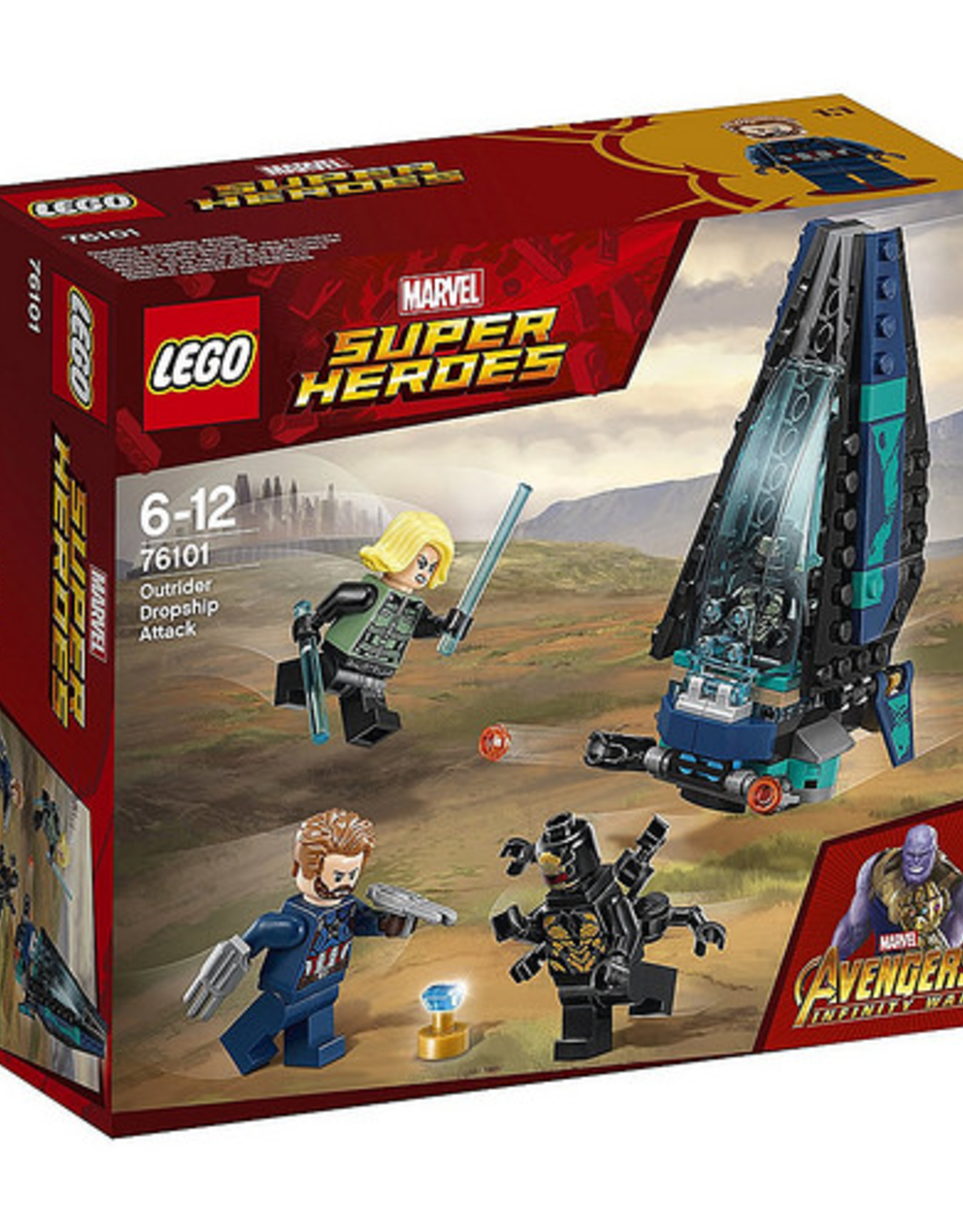 LEGO LEGO 76101 Outrider Dropship Attack SUPER HEROES