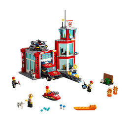 LEGO 60215 Brandweer Kazerne CITY