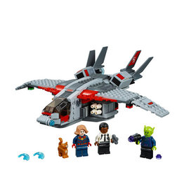 LEGO 76127 Captain Marvel and The Skrull Attack SUPER HEROES