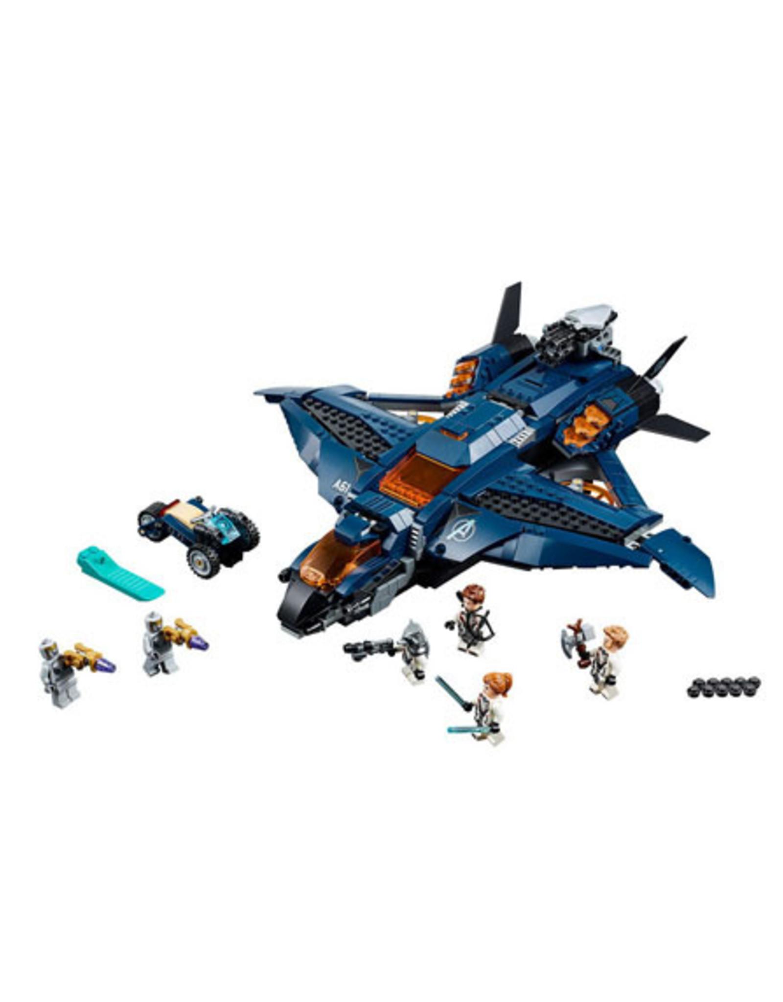 LEGO LEGO 76126 Marvel Avengers Ultimate Quinjet SUPER HEROES