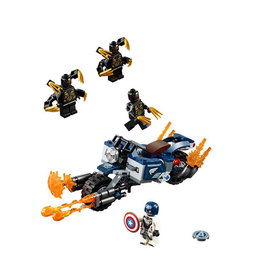 LEGO 76123 Captain America: Outriders Attack SUPER HEROES