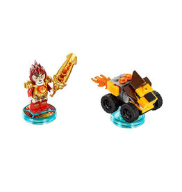 LEGO 71222 Fun Pack - Legends of Chima (Laval and Mighty Lion Rider) Dimensions