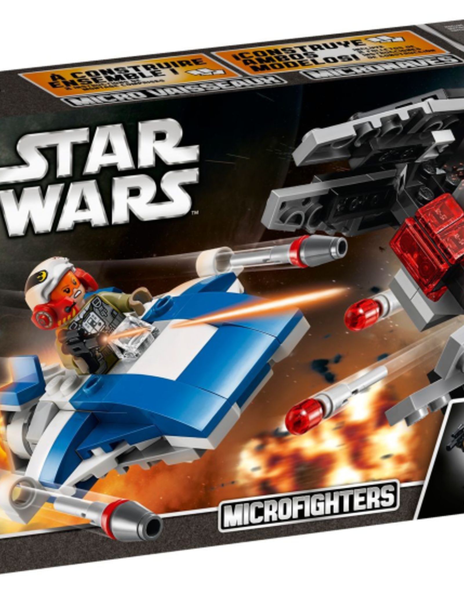 LEGO LEGO 75196 A-Wing vs. TIE Silencer Starfighter STAR WARS
