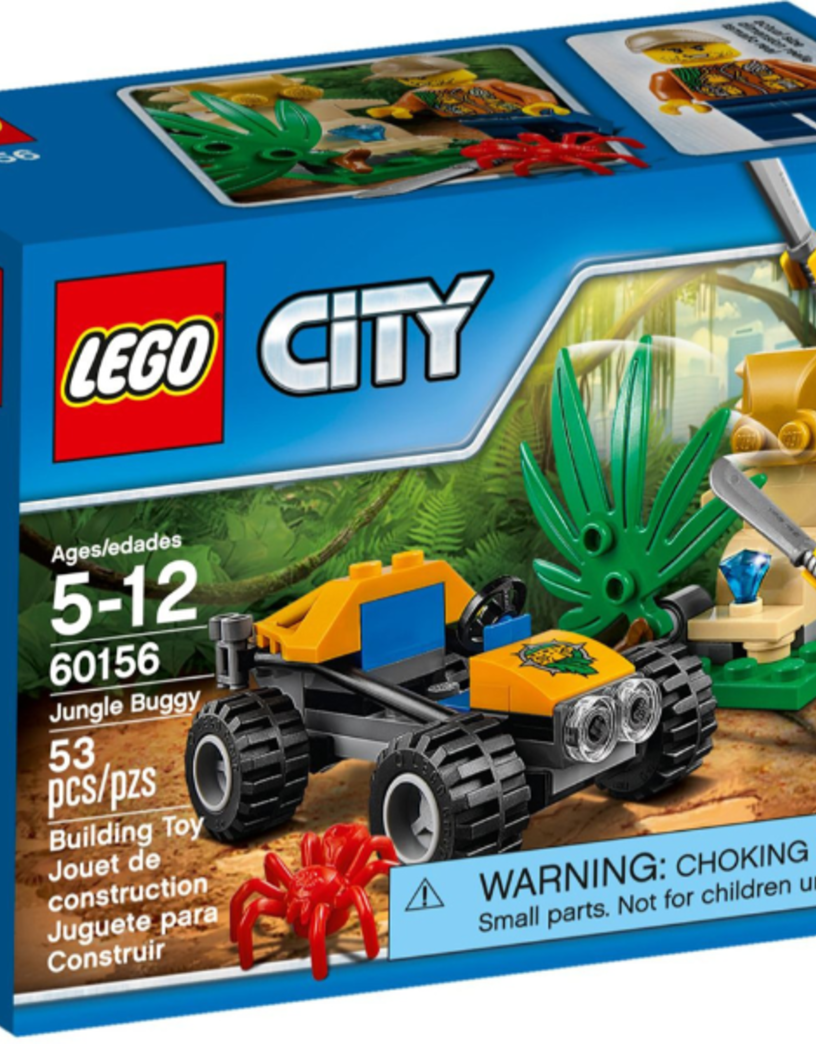 LEGO LEGO 60156 Jungle Buggy CITY