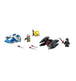 LEGO 75196 A-Wing vs. TIE Silencer Starfighter STAR WARS