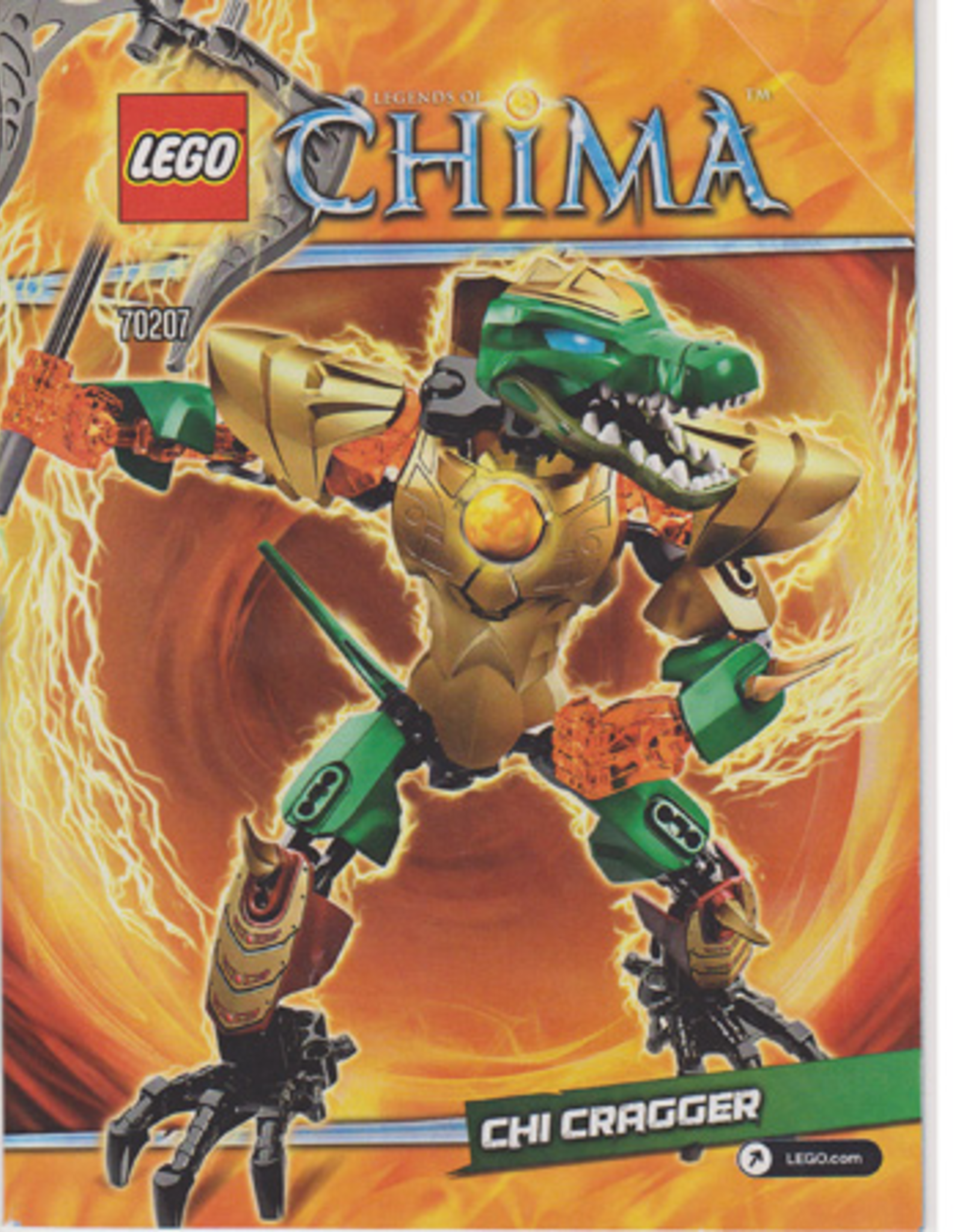 LEGO LEGO 70207 CHI Cragger CHIMA
