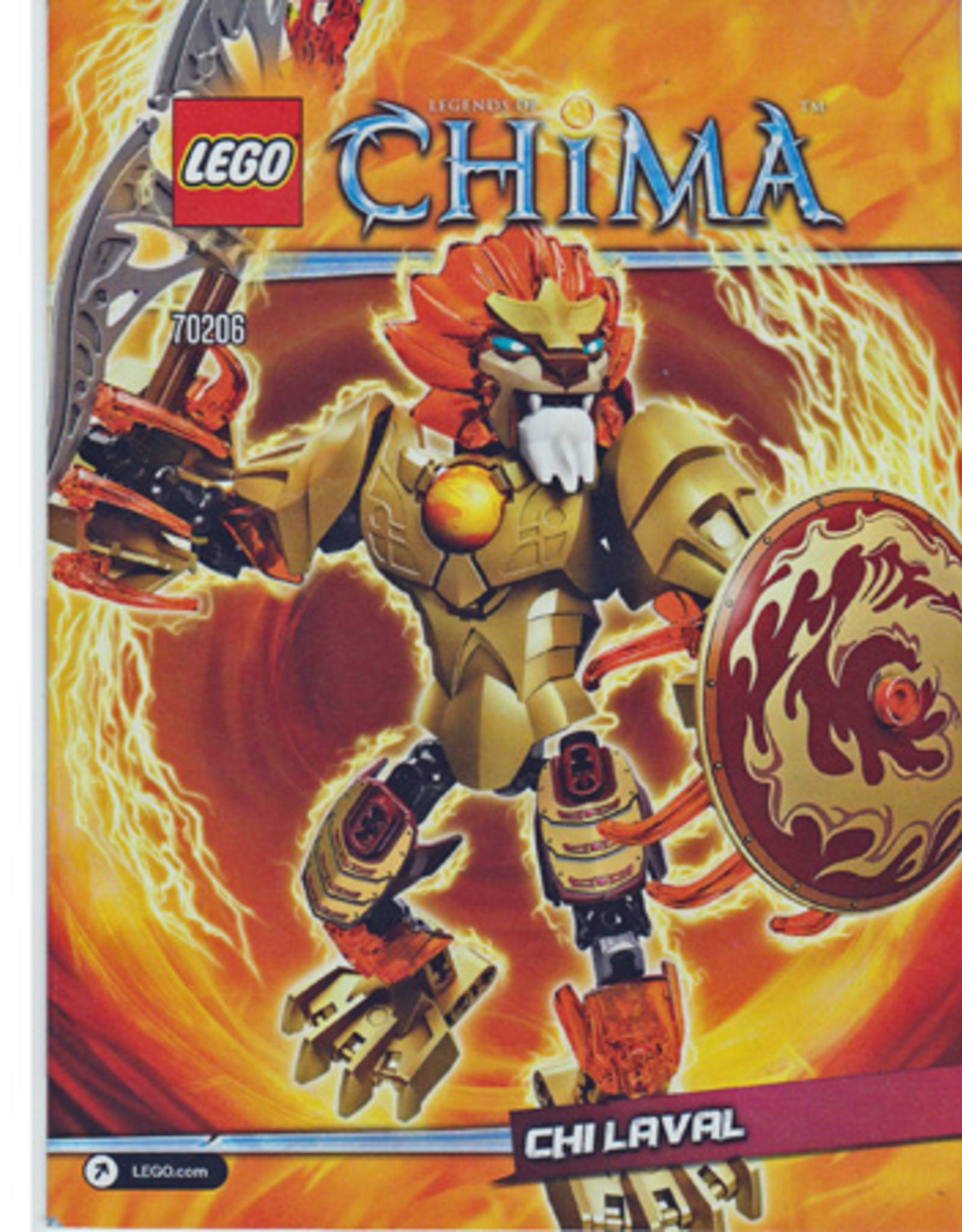 LEGO LEGO 70206 CHI Laval CHIMA
