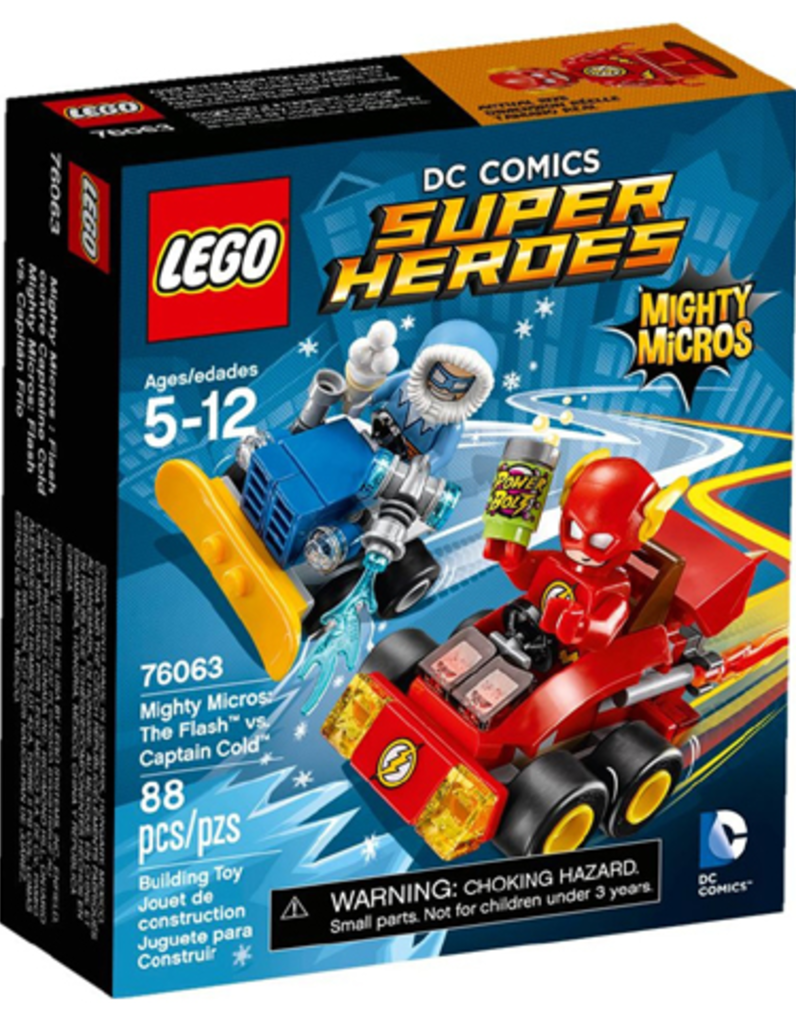 LEGO LEGO 76063 The Flash vs. Captain Cold SUPER HEROES