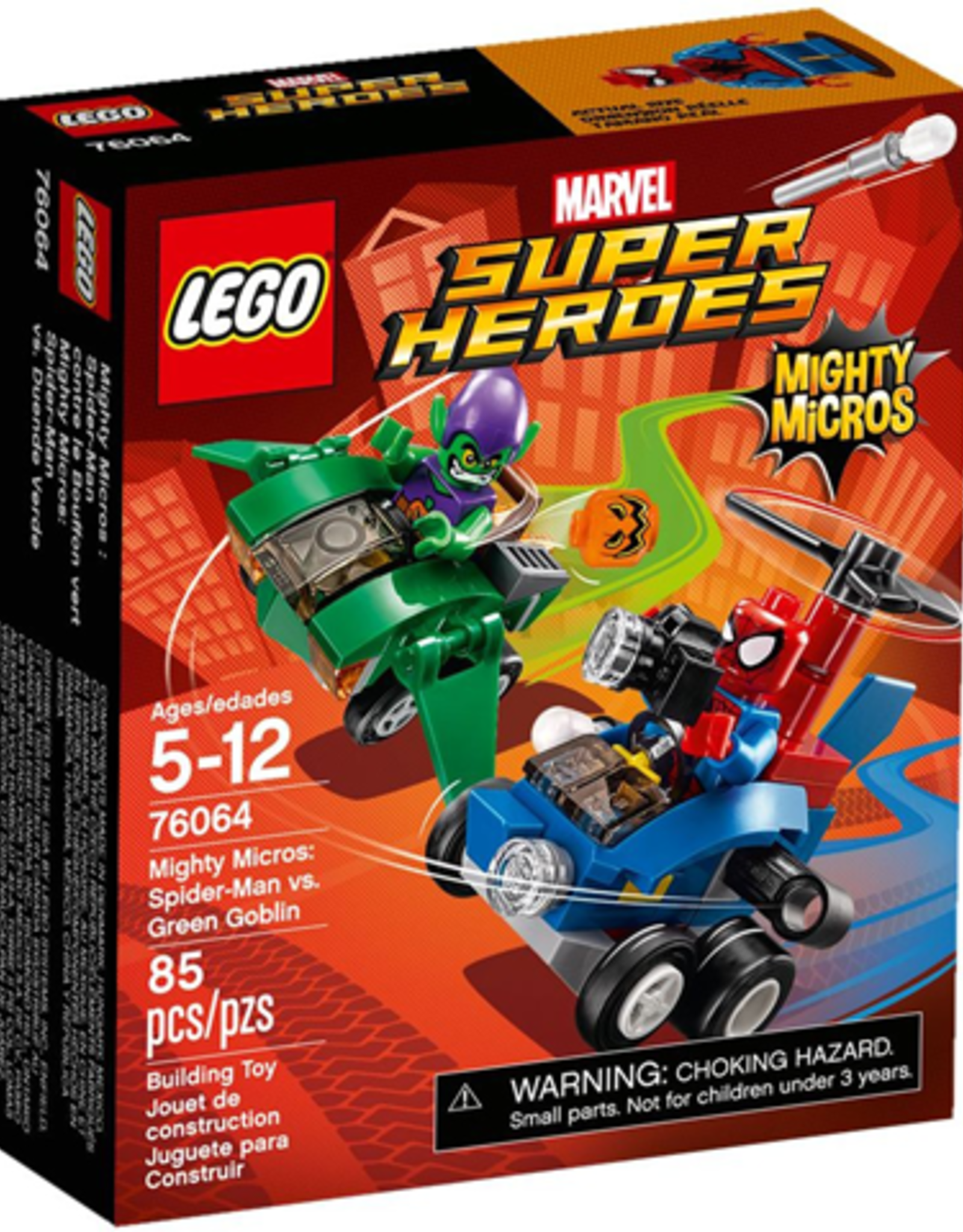 LEGO LEGO 76064 Spider-Man vs. Green Goblin SUPER HEROES