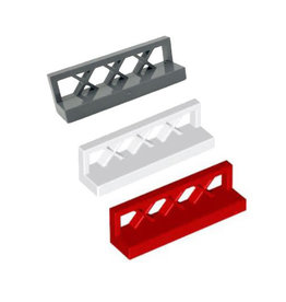 LEGO Hekjes 1 x 4 x 1 laag