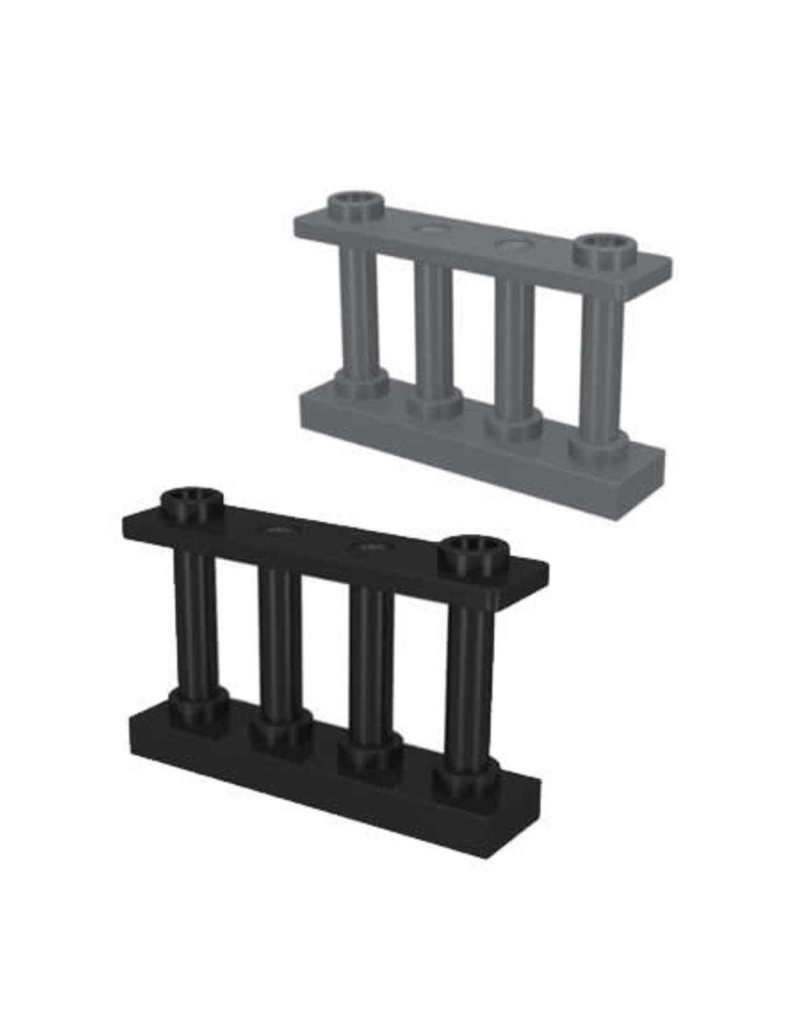 LEGO LEGO Hekjes 1 x 4 x 2 hoog 2 studs
