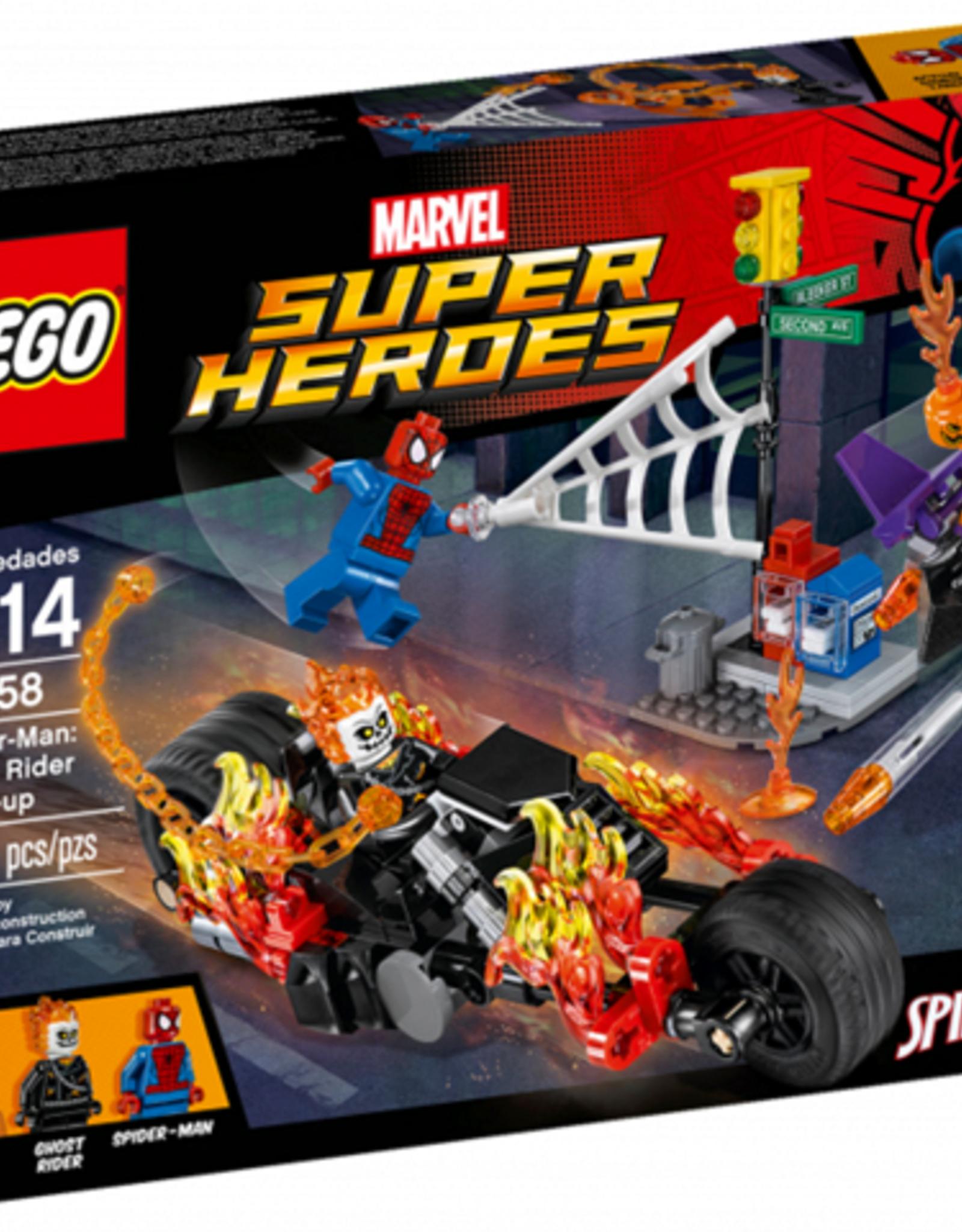 LEGO LEGO 76058 Spider-Man: Ghost Rider Team-up SUPER HEROES