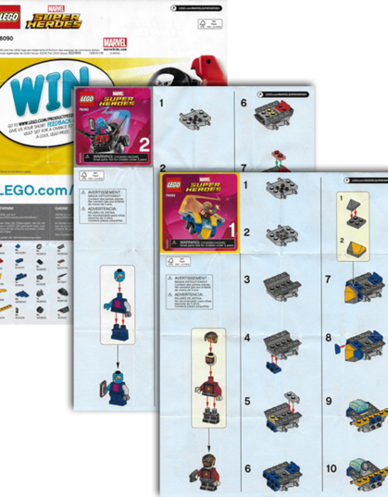 LEGO LEGO 76090 Star-Lord vs. Nebula SUPER HEROES