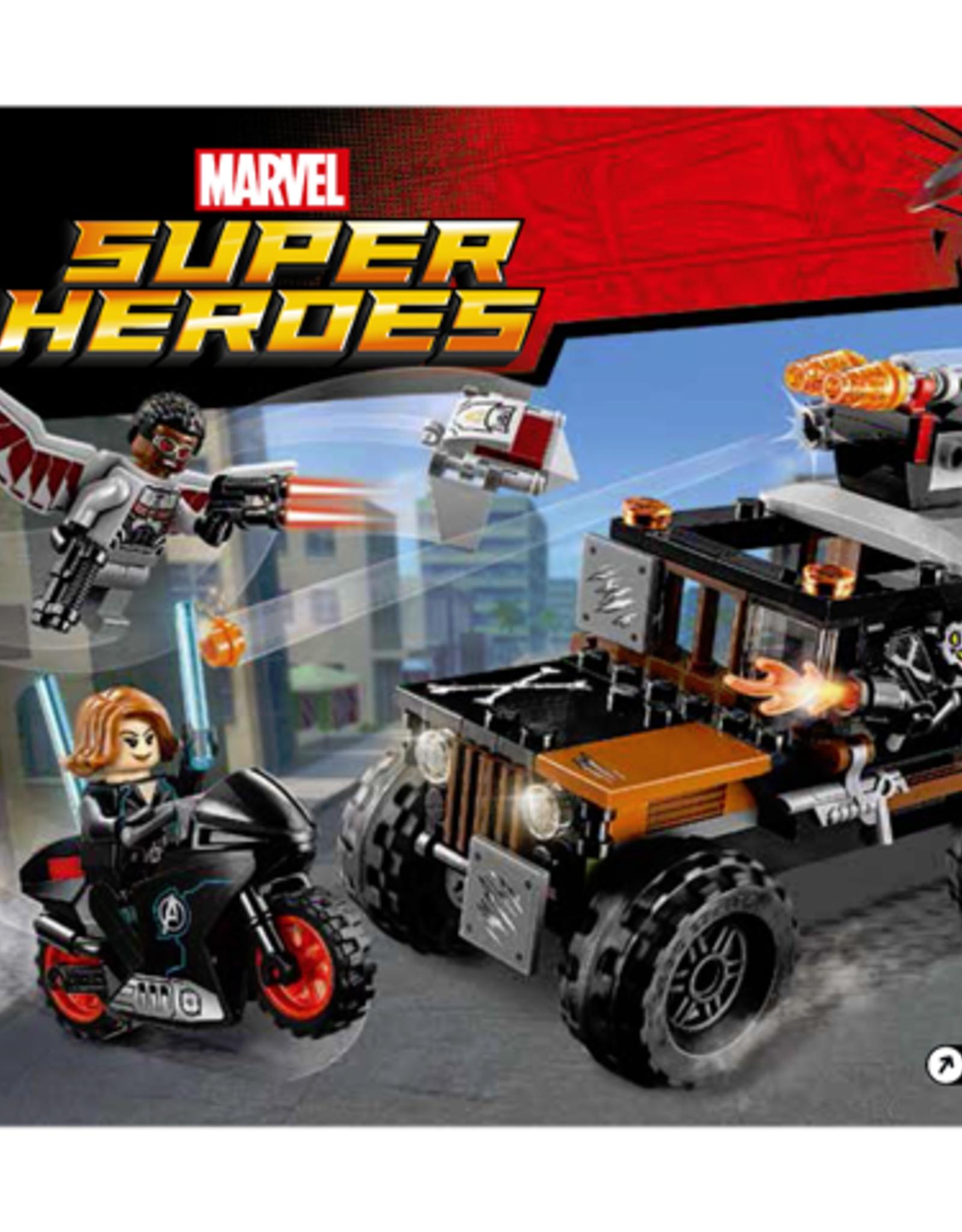 LEGO LEGO 76050 Crossbones' Hazard Heist  SUPER HEROES