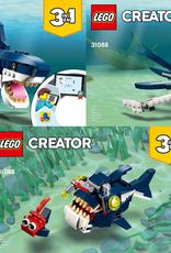 LEGO LEGO 31088 Deep Sea Creatures CREATOR