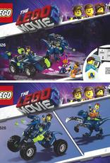 LEGO LEGO 70826 Rex's Rex-treme Offroader MOVIE