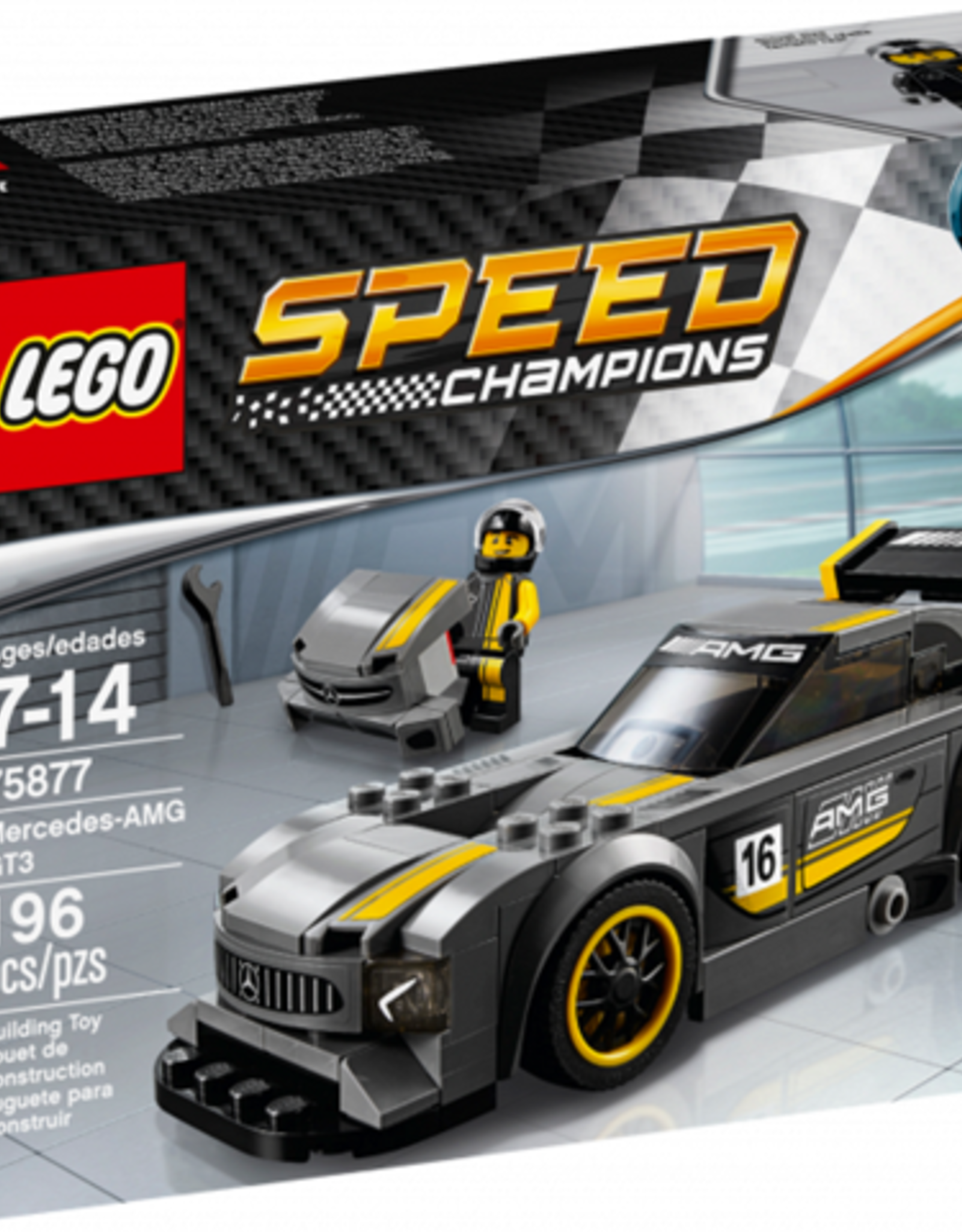 LEGO LEGO 75877 Mercedes-AMG GT3 SPEED Champions