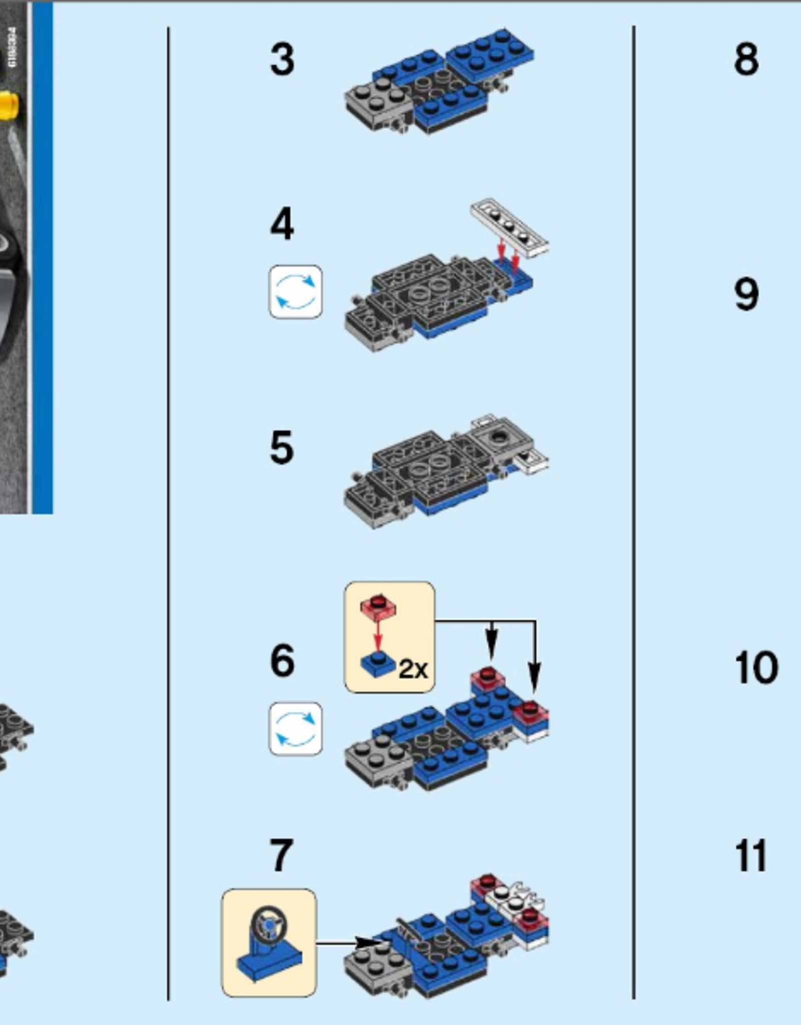 LEGO LEGO 30352 Police Car polybag CITY