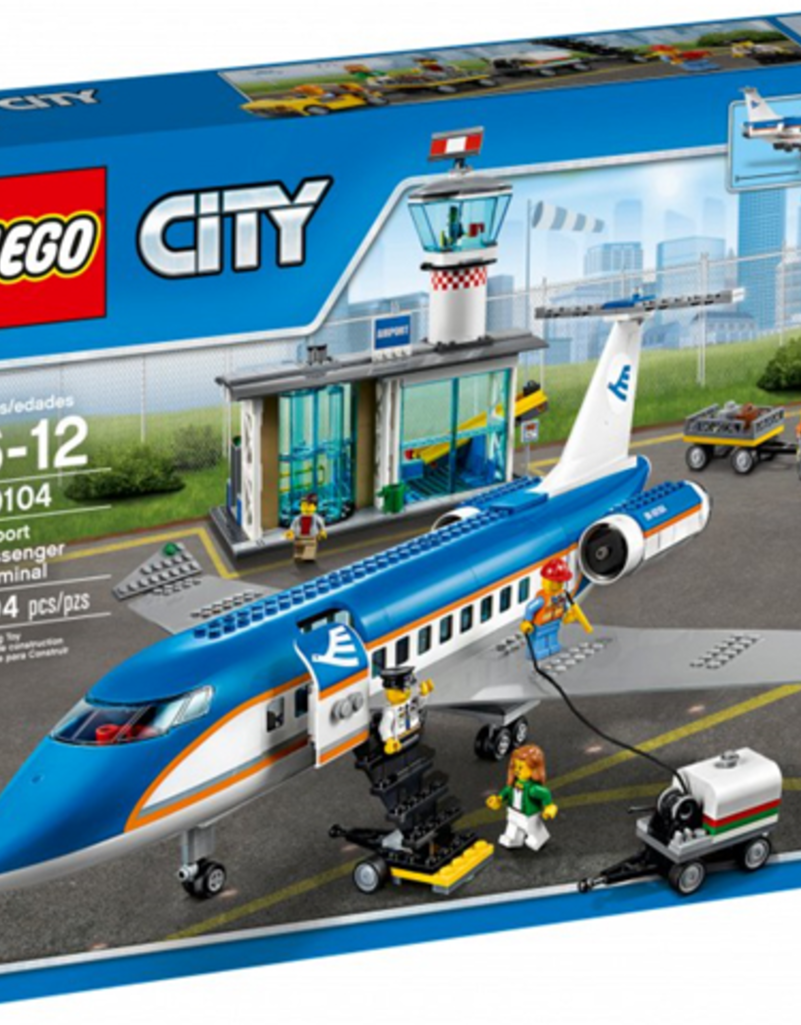LEGO LEGO 60104 Airport Passenger Terminal CITY