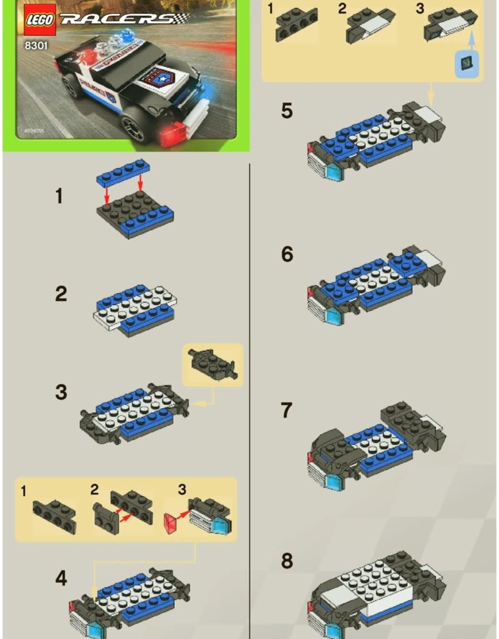 LEGO LEGO 8301 Urban Enforcer RACERS