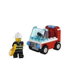 LEGO 30001 Fireman's Car CITY
