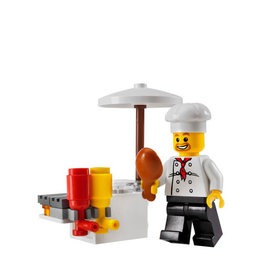 LEGO 8398 BBQ stand CITY