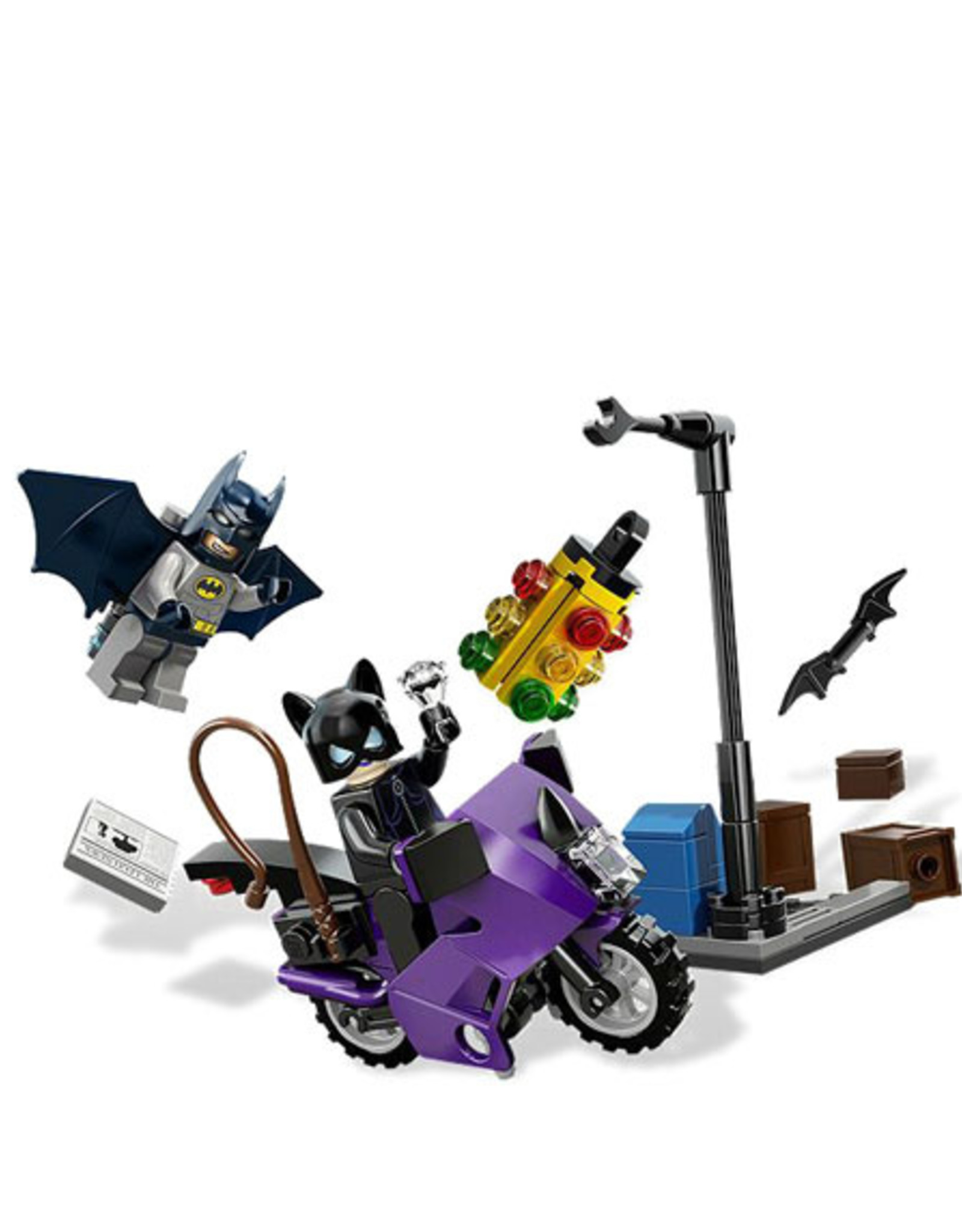 LEGO LEGO 6858 Catwoman Catcycle City Chase SUPER HEROES