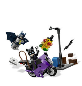 LEGO 6858 Catwoman Catcycle City Chase SUPER HEROES