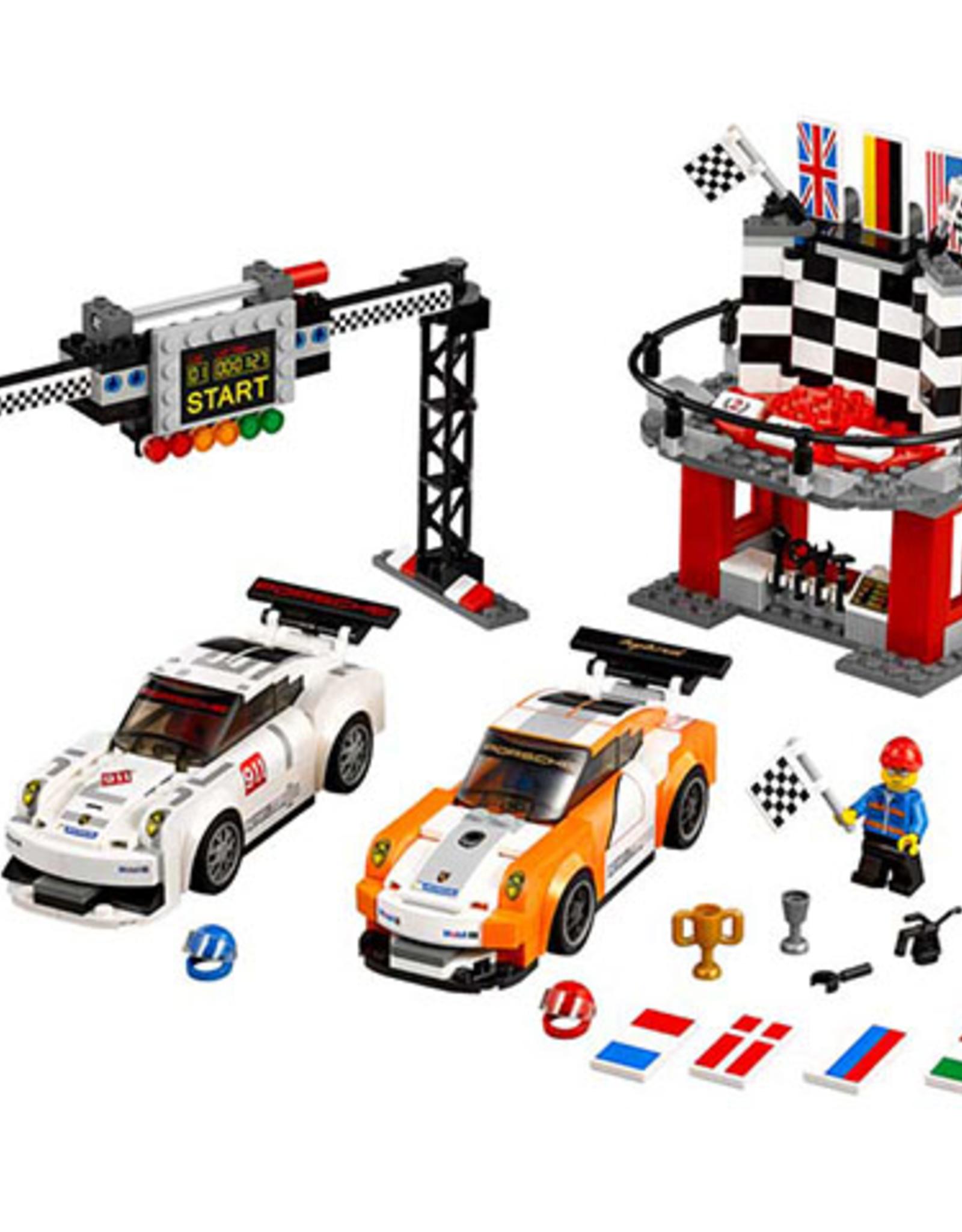 LEGO LEGO 75912 Porsche 911 GT Finish Line SPEED Champions
