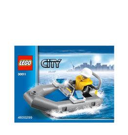 LEGO 30011 Police Dinghy CITY