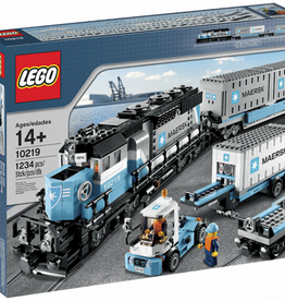 LEGO 10219 Maersk Container Train CREATOR Expert