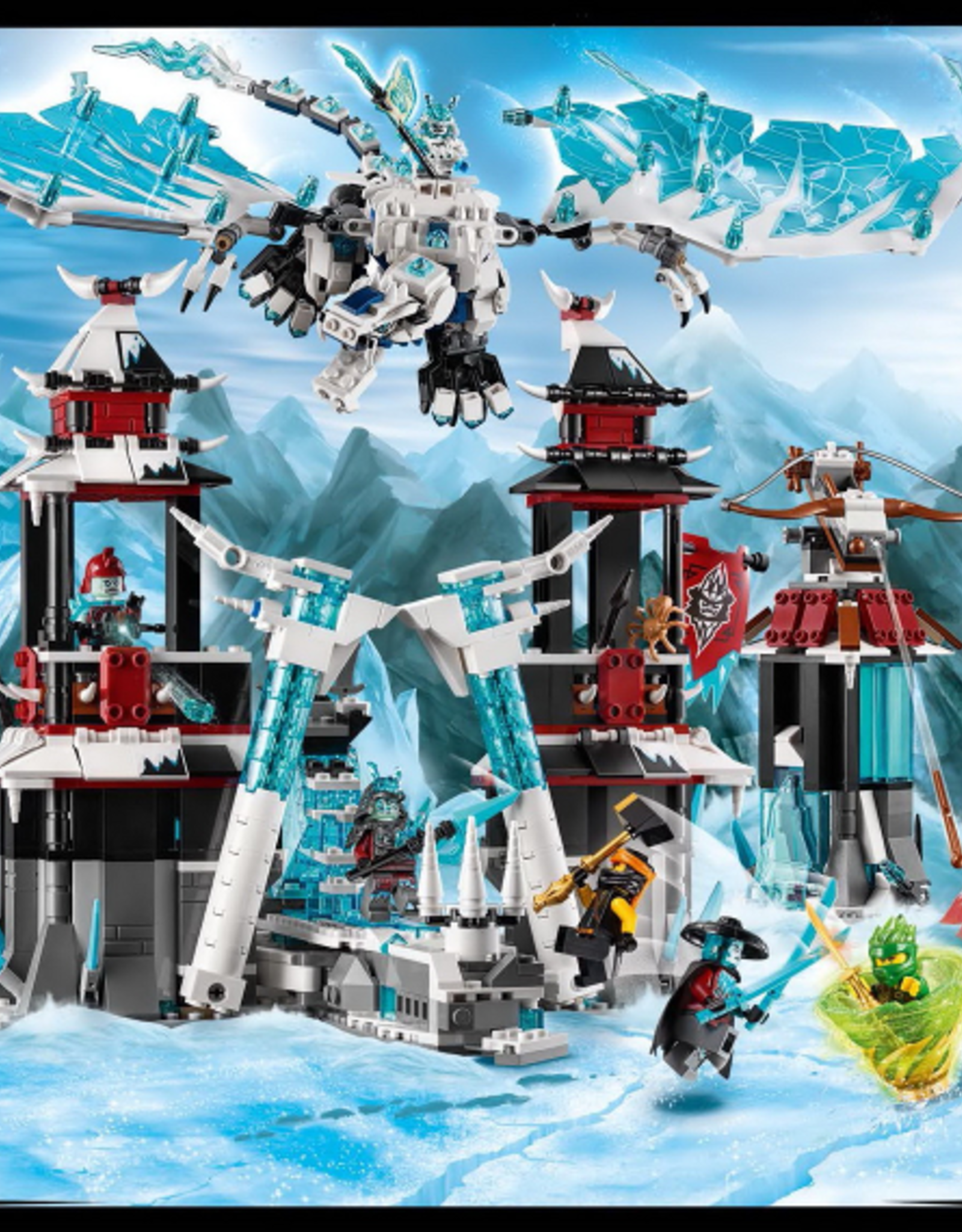 LEGO LEGO 70678 Castle of the Forsaken Emperor NINJAGO