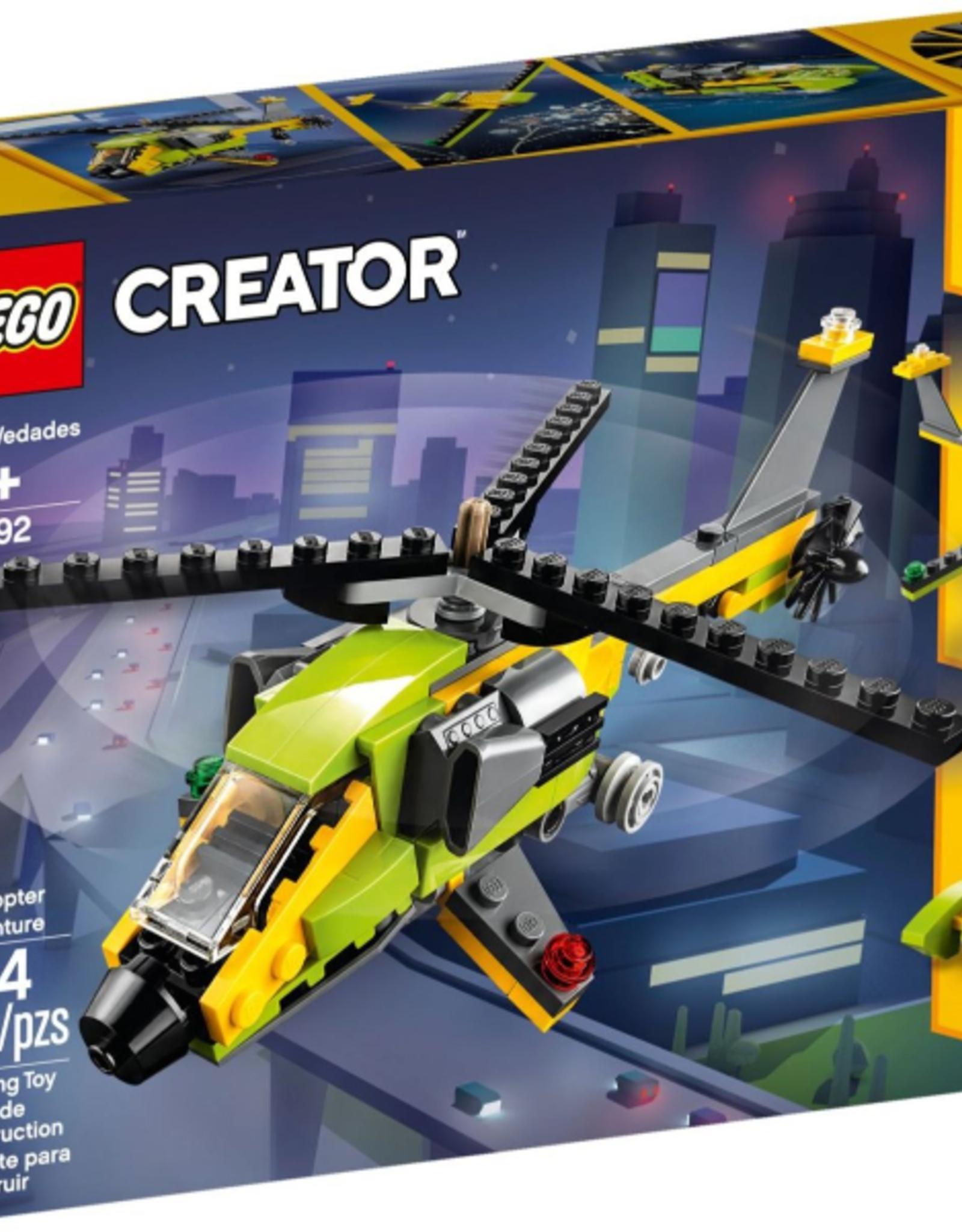 LEGO LEGO 31092 Helicopter Adventure CREATOR