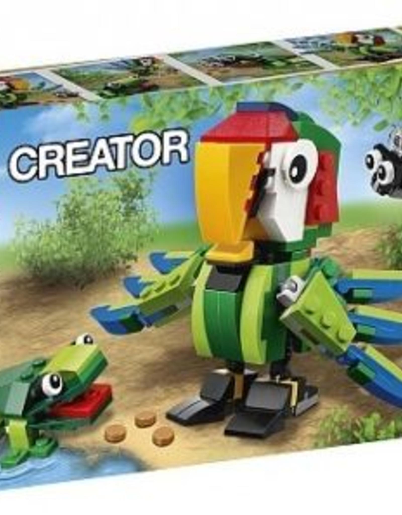LEGO LEGO 31031 Rainforest Animals CREATOR