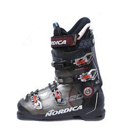 NORDICA Skischoenen Speedmachine 110 Zw/wit Gebruikt