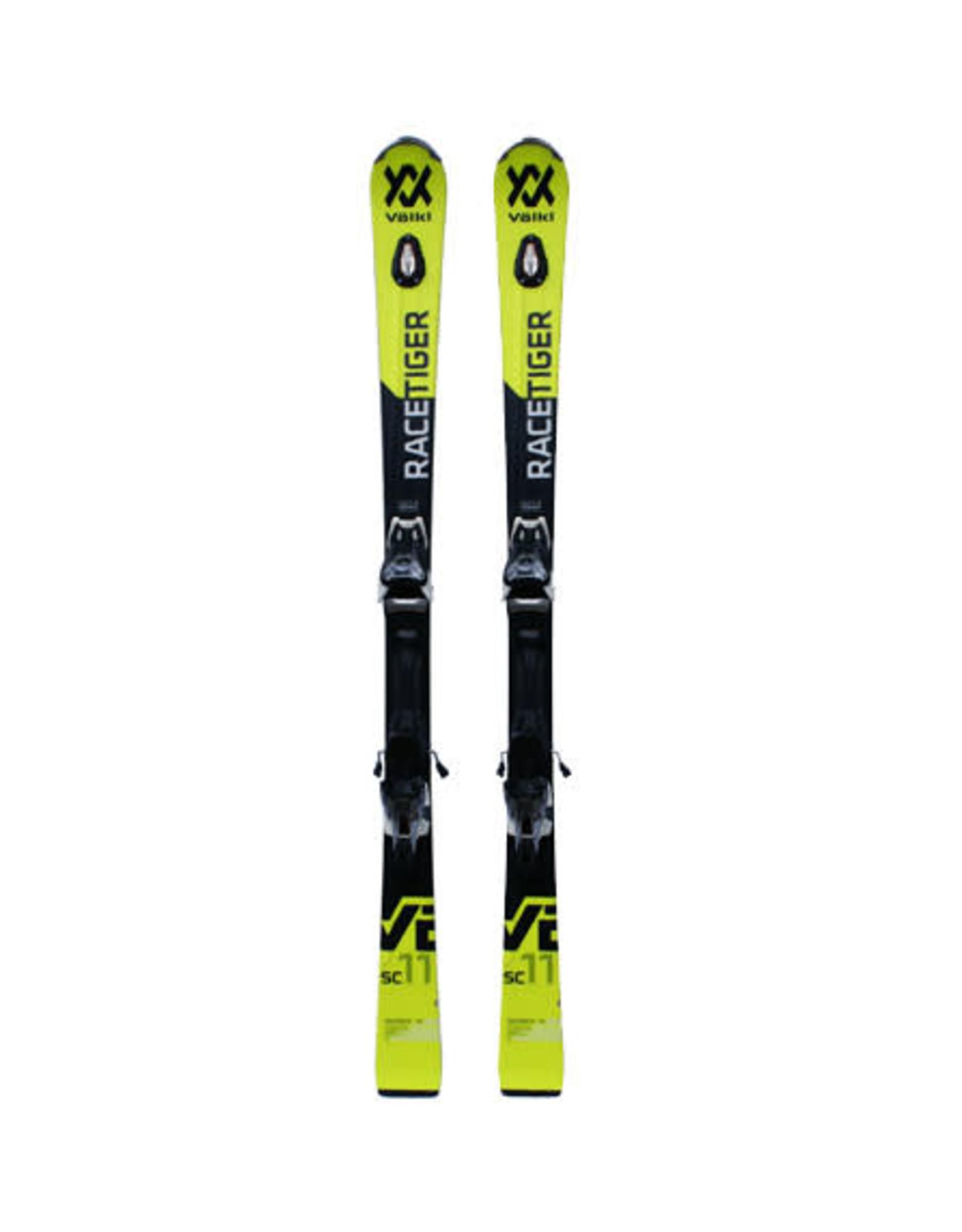 VOLKL Volkl Racetiger SC UVO geel/zw Ski's Gebruikt