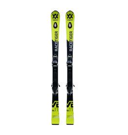 VOLKL Racetiger SC V2 UVO geel/zw Ski's Gebruikt