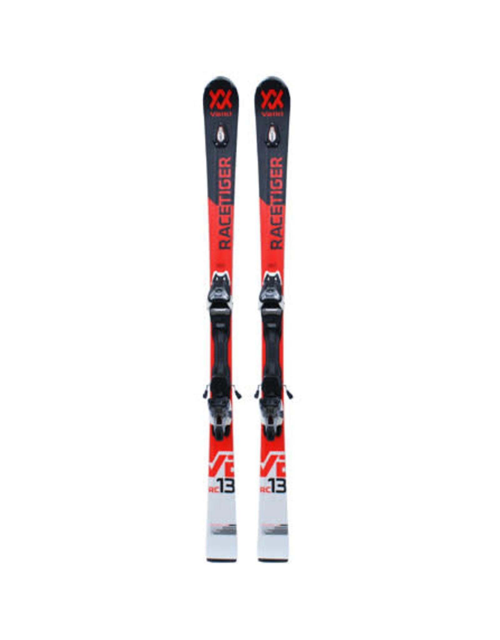 VOLKL Volkl Racetiger RC UVO (v2) Wit/rood/zw Ski's Gebruikt