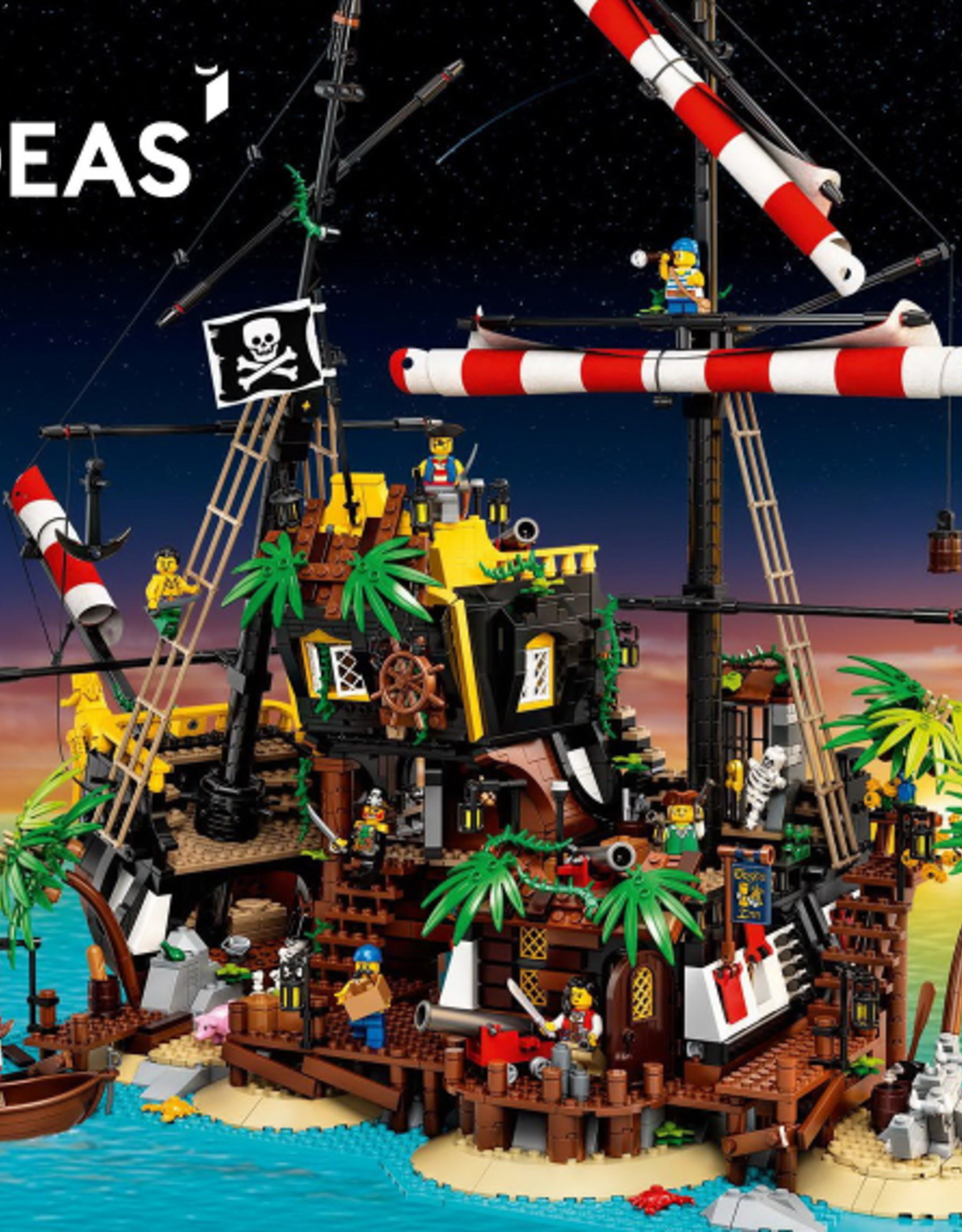 LEGO LEGO 21322 Pirates of Barracuda Bay IDEAS