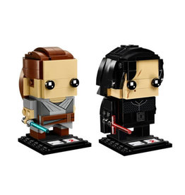 LEGO 41489 Rey & Kylo Ren Brickheadz SPECIAL